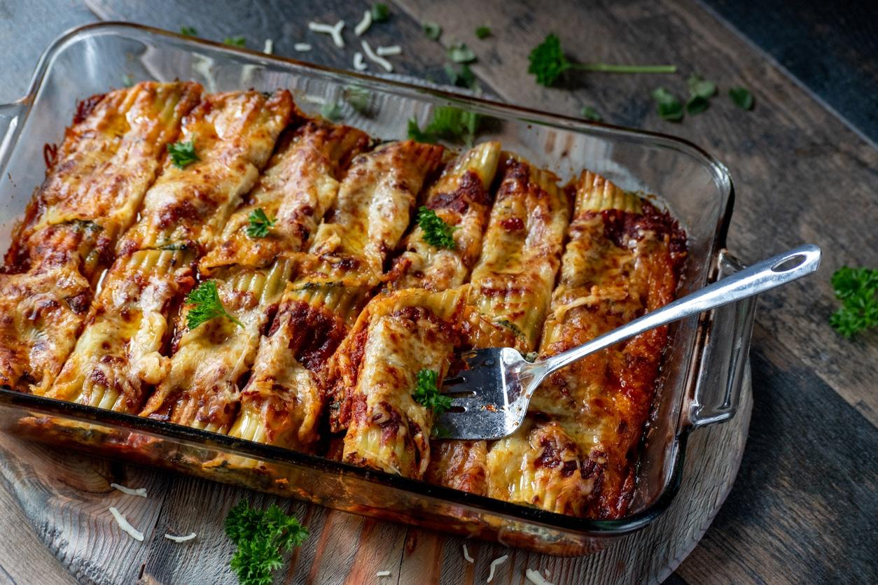 Gebackene Cannelloni