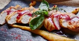 Hühnchenbrust mit Polenta Rezept