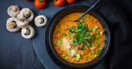 Pizzasuppe- la migliore zuppa Rezept