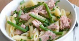 Rigatoni mit Thunfisch und Bohnen Rezept