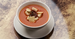 Tomaten Parmesan Suppe Rezept