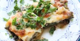 Vegetarische Spinat Lasagne Rezept