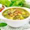 Soupe au Pistou (Provençalische Gemüsesuppe)